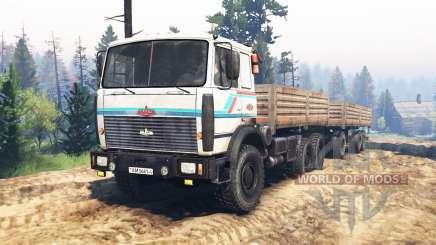 MAZ-6317 v2.0 für Spin Tires