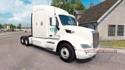 Epes de Transport de la peau pour le camion Peterbilt 579 pour American Truck Simulator