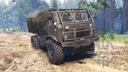 GAZ-66 all-terrain-Fahrzeug für Spin Tires