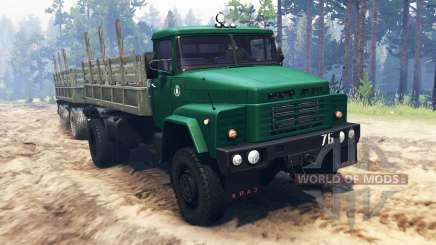 KRAZ-260 4x4 für Spin Tires