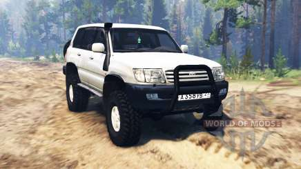 Toyota Land Cruiser [pack] pour Spin Tires