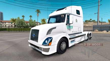 Epes de Transport de la peau pour les camions Volvo VNL 670 pour American Truck Simulator