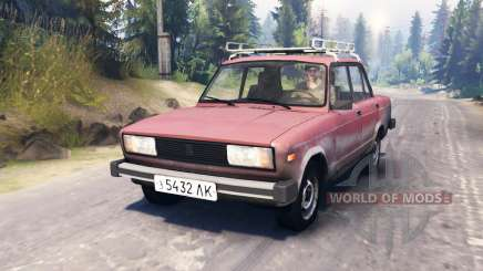VAZ-2105 pour Spin Tires