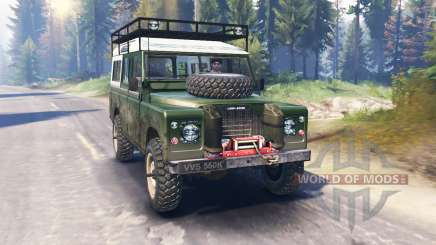 Land Rover Defender Series III v2.0 pour Spin Tires