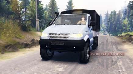 UAZ 23602 für Spin Tires