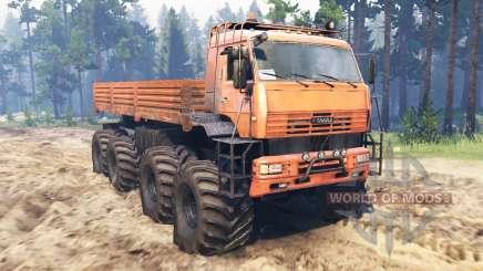 KamAZ-6560 8x8-Nord für Spin Tires