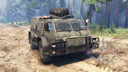 GAZ-3937 Vodnik v2.0 für Spin Tires