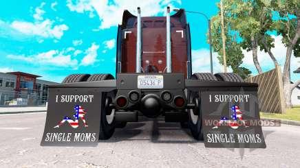 Kotflügel I Support Single Moms v2.0 für American Truck Simulator