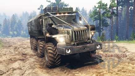 Ural-4320-10 8x8 für Spin Tires