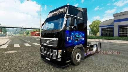 De la peau au FC Schalke 04, chez Volvo trucks pour Euro Truck Simulator 2