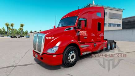 Скин Knight Transportation на Kenworth T680 für American Truck Simulator