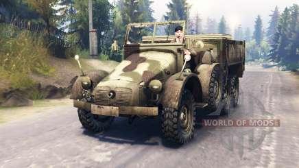 Krupp Protze L2H43 pour Spin Tires