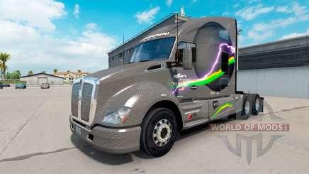 Affari Transport skin für Kenworth T680-Traktor für American Truck Simulator