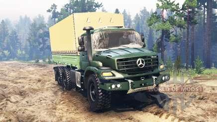 Mercedes-Benz Zetros 2733 A für Spin Tires