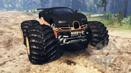 Bugatti Veyron SS [monster truck] pour Spin Tires