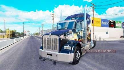 Kenworth T800 2016 pour American Truck Simulator