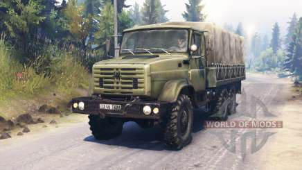 ZIL-4334 pour Spin Tires