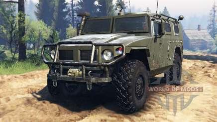 GAZ-2330 Tiger v2.0 für Spin Tires