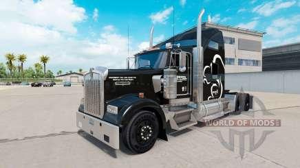 L'Écureuil de la Logistique de la peau pour le Kenworth W900 tracteur pour American Truck Simulator