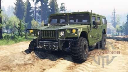Hummer H1 v2.0 pour Spin Tires