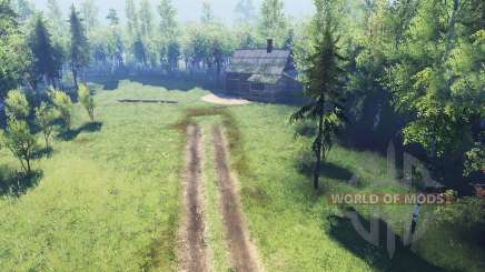Spooky forest v2.0 für Spin Tires