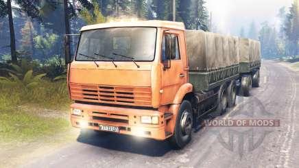 KamAZ-6522 Stamm für Spin Tires