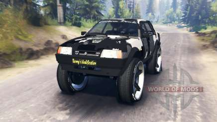 VAZ-21099 camouflage pour Spin Tires