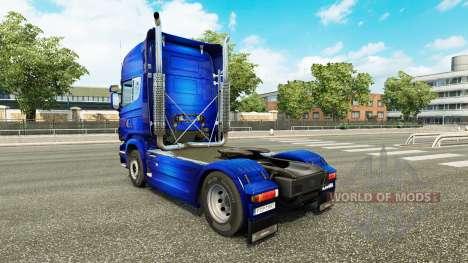 Fantastische Blue skin für Scania-LKW für Euro Truck Simulator 2