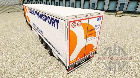 La peau Boom de Transport sur semi-remorque-ride pour Euro Truck Simulator 2