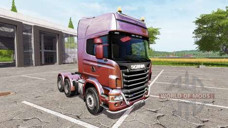Scania R730 v1.1 pour Farming Simulator 2017