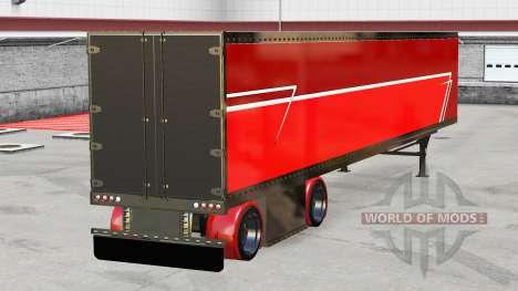 frigorifique semi remorque fant me pour american truck simulator. Black Bedroom Furniture Sets. Home Design Ideas