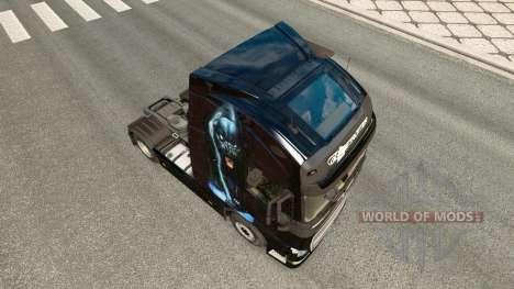 Panther-skin für den Volvo truck für Euro Truck Simulator 2
