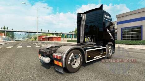 Black Pearl skin für Volvo-LKW für Euro Truck Simulator 2