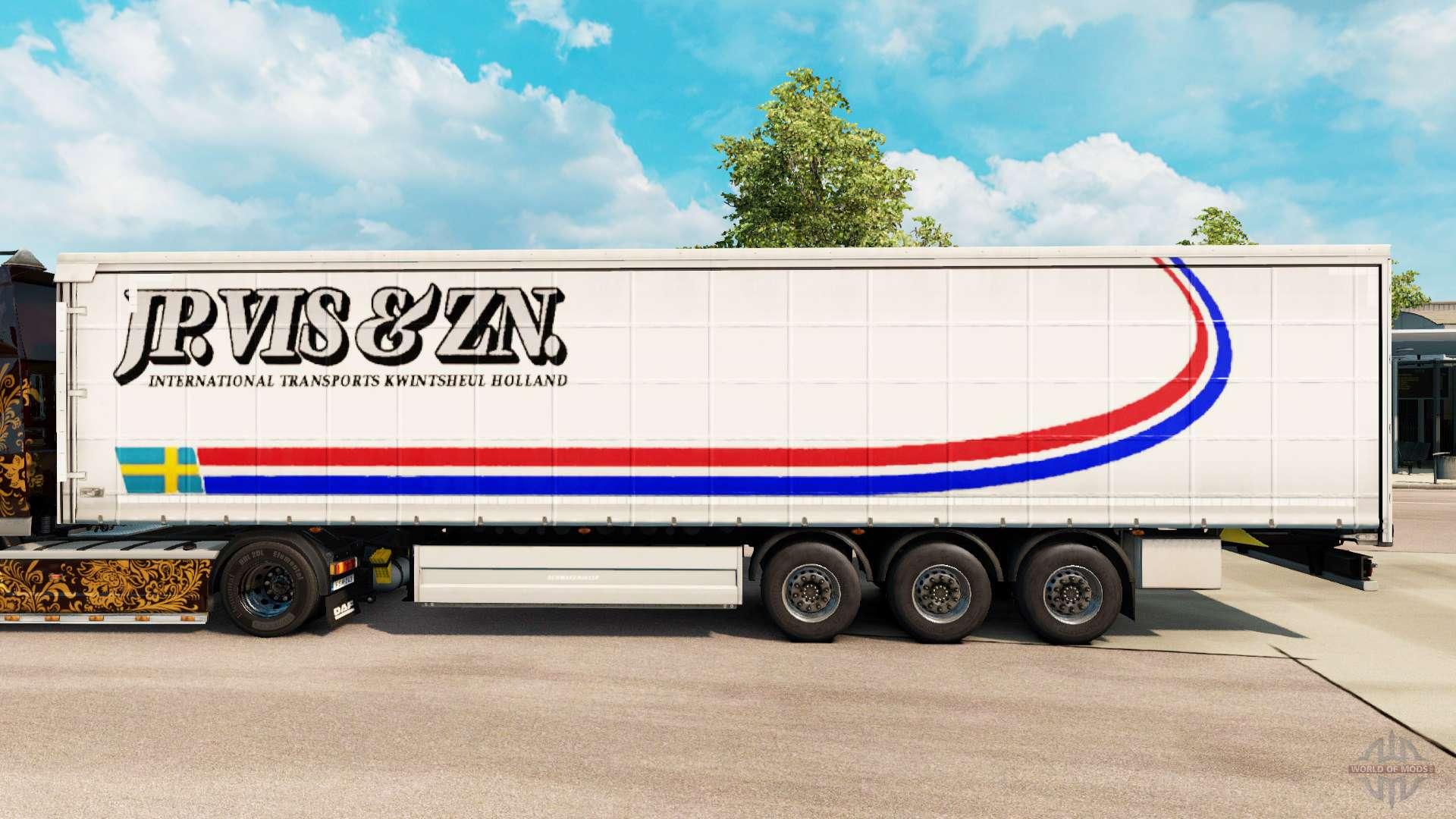 Skin remorque euro truck simulator 2