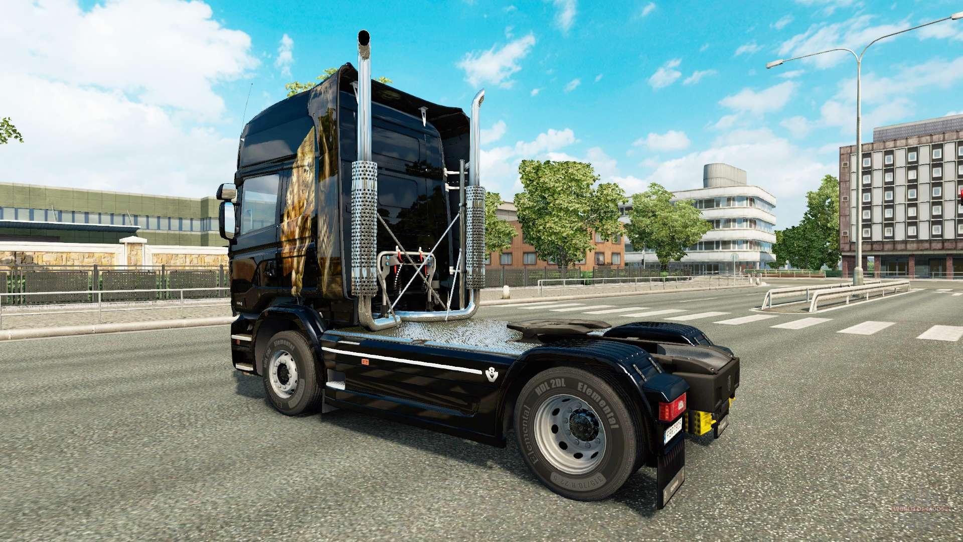Jeux de camion euro truck simulator 2