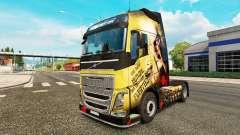 Haut Sparta für Volvo-LKW