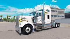 Haut Walmart auf dem truck-Kenworth W900