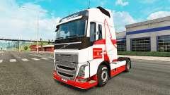 Wolfsburg skin for Volvo truck