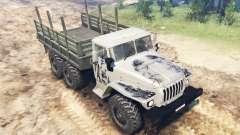 Das Fahrzeug Ural-4320