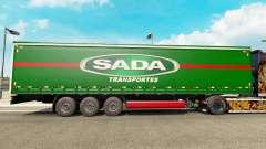 SADA Transportes skin für trailer Vorhang