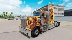 Haut Rusty auf der LKW-Kenworth W900