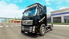 La Perle noire de la peau pour Volvo camion