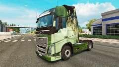 De la peau pour les camions Volvo