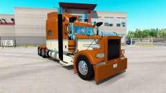 Cremig-Gold skin für den truck-Peterbilt 389