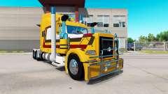 Haut die Bauern Öl für den truck-Peterbilt 389