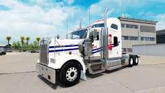 Haut auf Tecate truck Kenworth W900