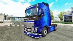Fantastique Bleu de la peau pour Volvo camion