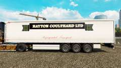 Haut Hayton Coulthard Ltd in curtain semi-traile