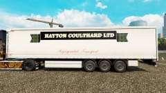 Haut Hayton Coulthard Ltd in curtain semi-traile