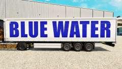 Haut bei Blue Water curtain semi-trailer